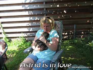 Astrid is in love